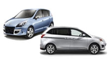 DS Opel Zafira, Ford S-Max